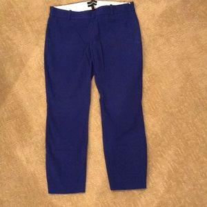 J Crew Minnie cropped pants